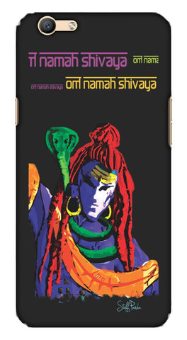 Cool Funky Lord Om Shiva mobile case for Oppo F1s