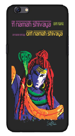Cool Funky Lord Om Shiva for Oppo F3 Plus