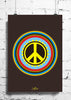 Cool Funky Abstract Peace Circles wall posters, art prints, stickers decals - stuffpanda - 1
