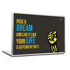 Cool Abstract Motivation Pick a dream Laptop cover skin vinyl decals - stuffpanda - 1