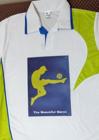 Polyester dry-fit Sports T Shirt - Football player
