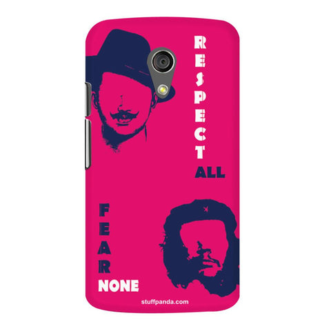 Designer Cool funky Bhagat Singh hard back cover / case for Moto G2