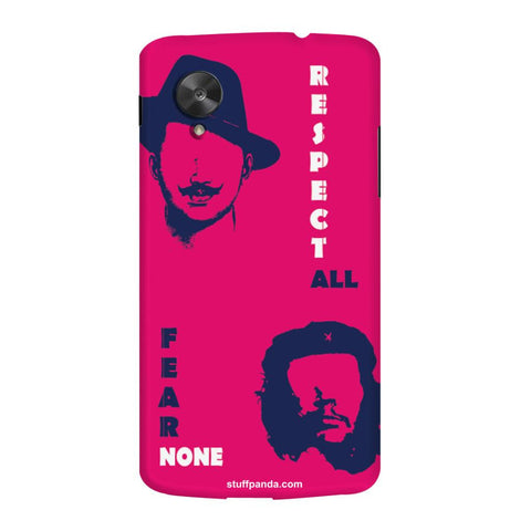 Designer Cool funky Bhagat Singh hard back cover / case for Nexus 5