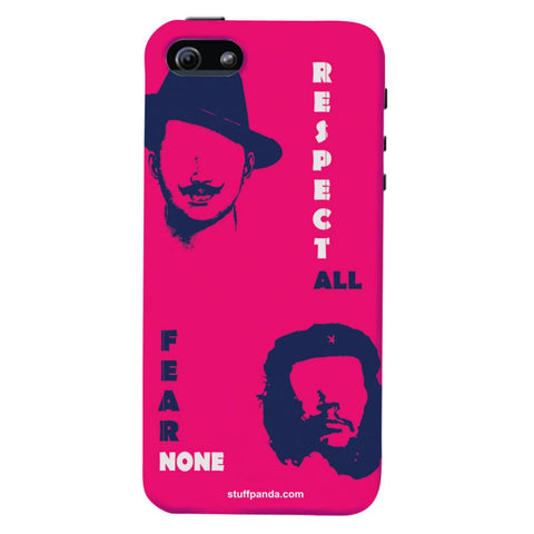 Designer Cool funky Bhagat Singh hard back cover / case for Iphone 5 / 5s