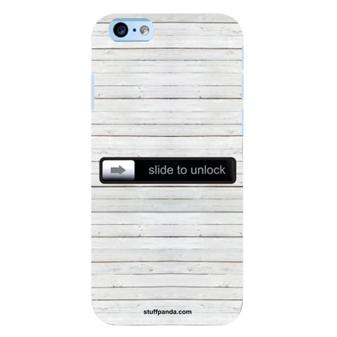 Designer Cool funky Slide To Unlock hard back cover / case for Iphone 6