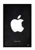 Cool Funky Apple Steve jobs apple face Glass frame posters Wall art - stuffpanda - 1