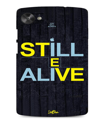 Cool Funky Apple Steve jobs Still Alive Mobile back cover / case for Xiaomi MI3