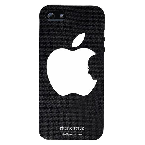 Designer Cool funky Steve Face Appple hard back cover / case for Iphone 5 / 5s