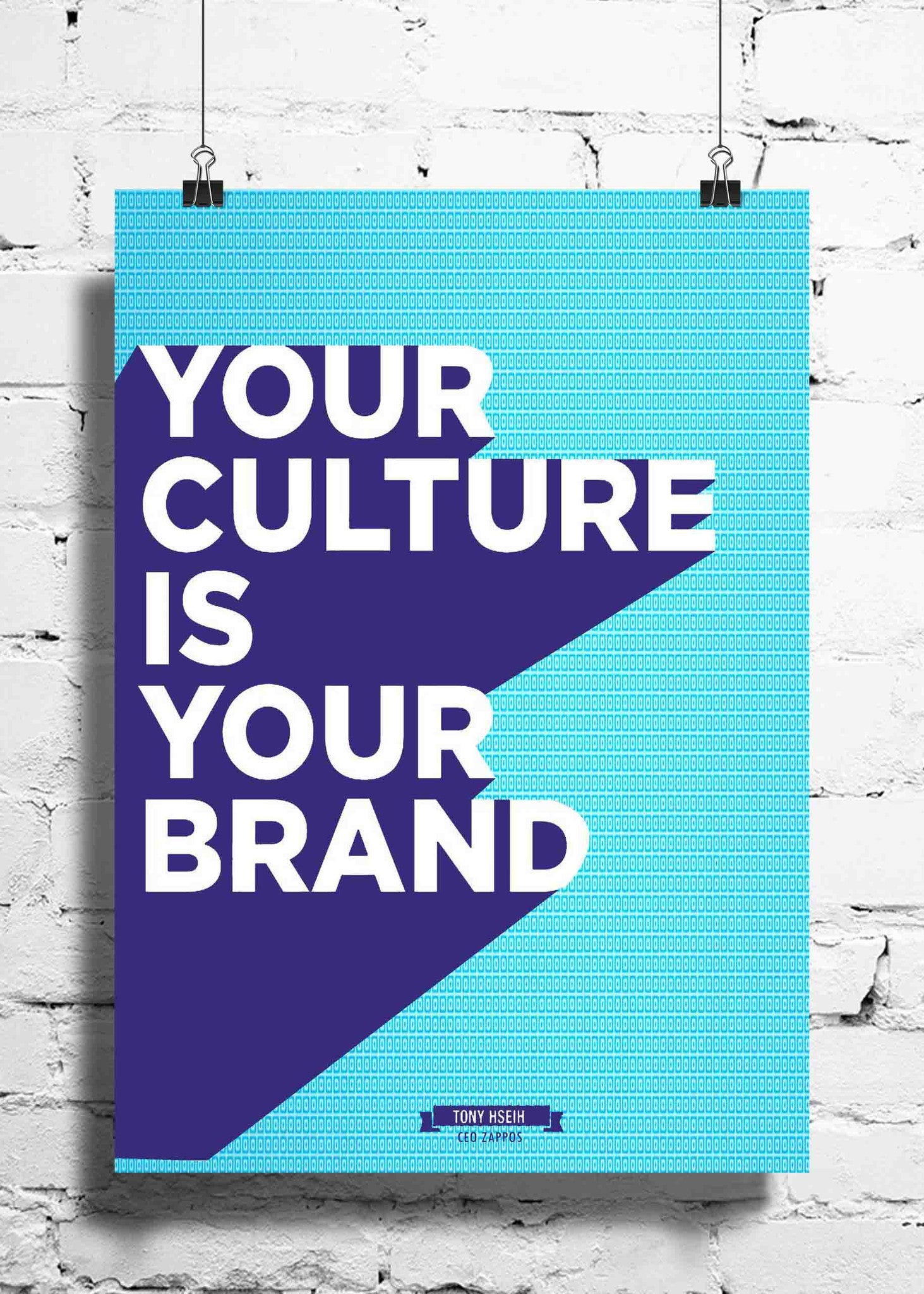 Cool Abstract Motivation Your Culture wall posters, art prints, stickers decals - stuffpanda - 1