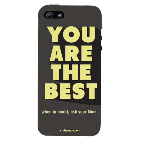 Designer Motivational You Are Best hard back cover / case for Iphone 5 / 5s