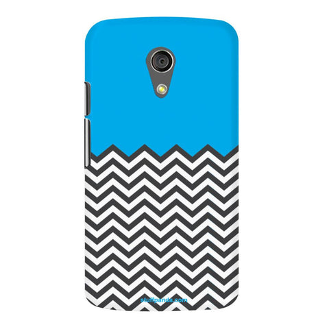 Designer Cool funky Zigzag hard back cover / case for Moto G2