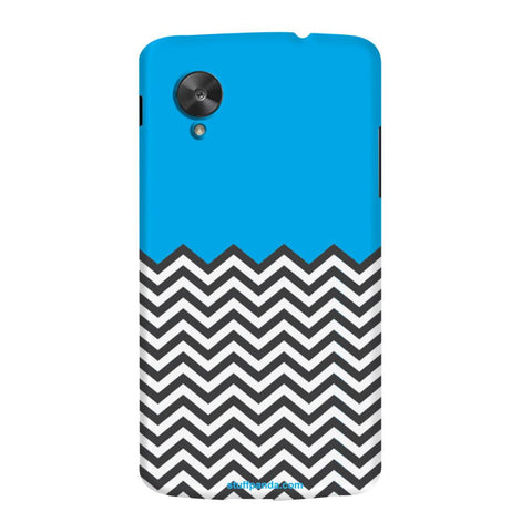 Designer Cool funky Zigzag hard back cover / case for Nexus 5