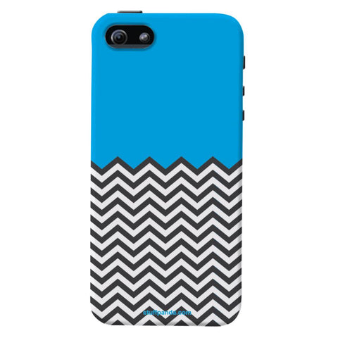 Designer Cool funky Zigzag hard back cover / case for Iphone 5 / 5s