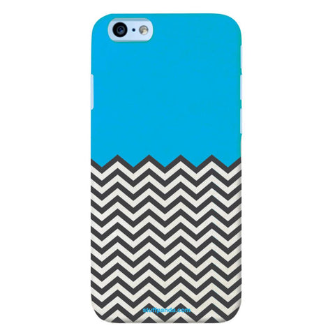 Designer Cool funky Zigzag hard back cover / case for Iphone 6