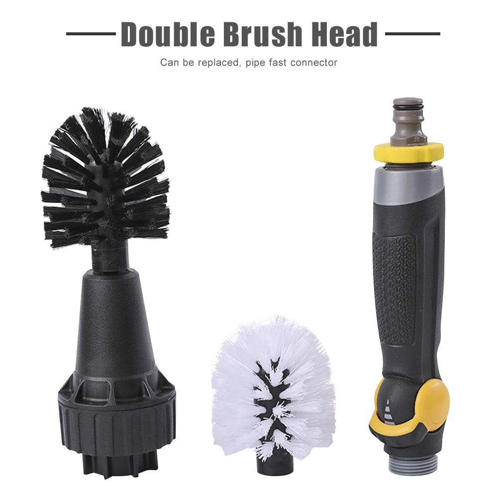 Car tire brush cleaning cleaning tool - shopix24