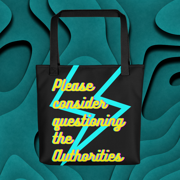 Polite Rebel Shopping Bag