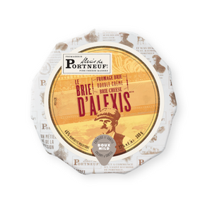 Alexis de Portneuf Brie D'Alexis Double Cream Cheese 300 g