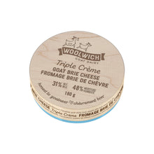 Load image into Gallery viewer, Woolwich Dairy Triple Cream Goat Brie 180 g* underweight