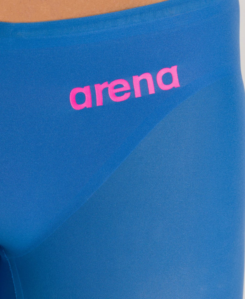 Arena Mens Powerskin R-Evo One Jammer SL Blue-Powder Pink