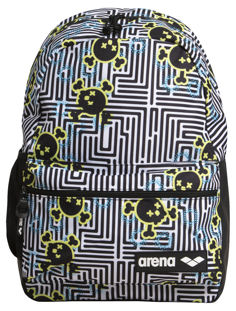 Arena Team Backpack 30 Allover Crazy Labyrinth