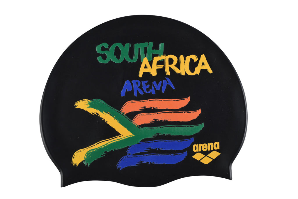 South Africa Flags Silicone Cap