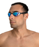 Cobra Core Swipe Goggle - Mirror Blue/Silver - LTD ED Bishamon Collection