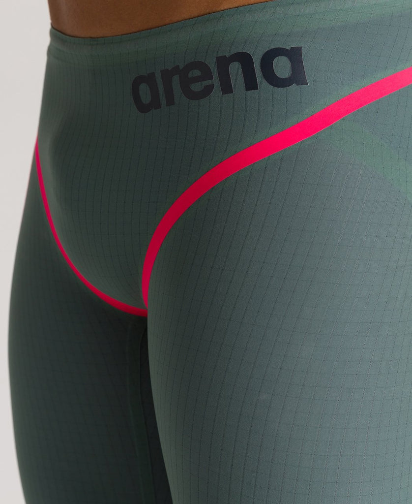 Arena Men's Powerskin Carbon Core FX Jammer Army Green