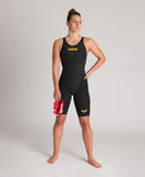 Arena Women's Carbon Glide FBSLOB Black-Gold