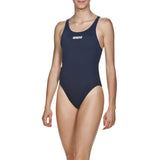 Wgtn Dive Women's Solid Swim Tech High