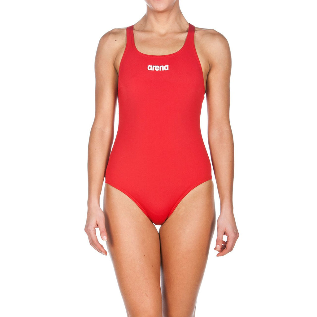 Arena Women's Solid Swim Pro Red