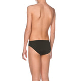 Arena Boy's Solid Brief Black-White