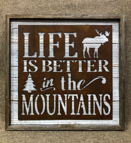 Life Better In The Mountains: Moose