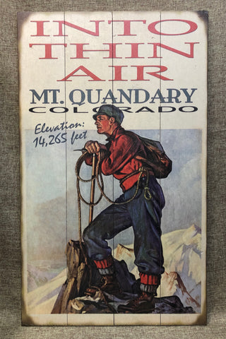 Into Thin Air: Mt Quandary