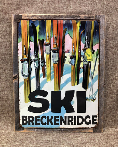 Ski Breckenridge Colorful