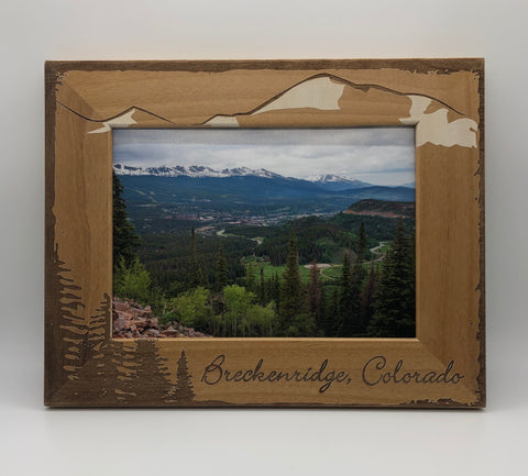 5X7 Breckenridge Mountains