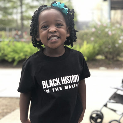 Girls Black History Tee