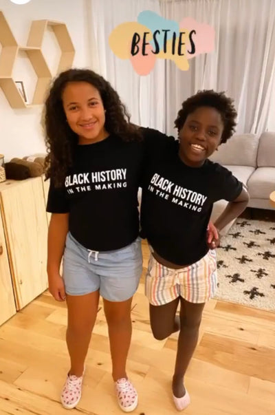 Kids Black History In The Making Shirt