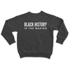 Kids Black History In The Making Crewneck Sweater