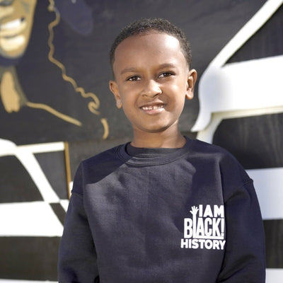 Kids I Am Black History Sweater