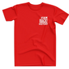 Red I AM Black History Shirt