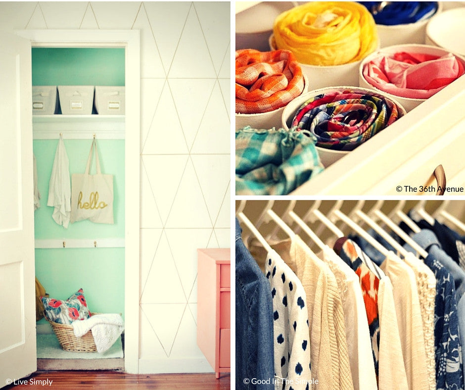 Organized Closets {Friday Finds}