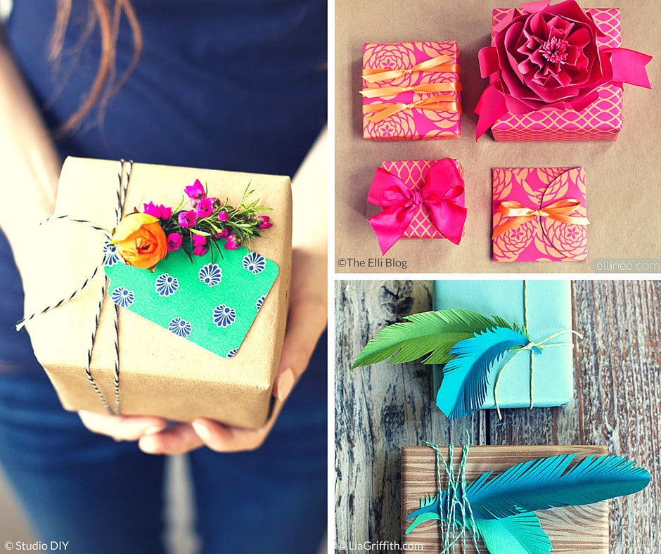 Cool Ways To Wrap Mother's Day Gifts {Friday Finds}