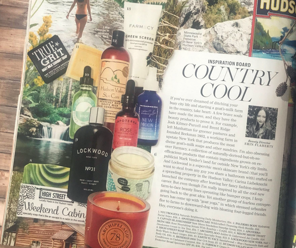 High Street Soap Featured in Marie Claire Magazine