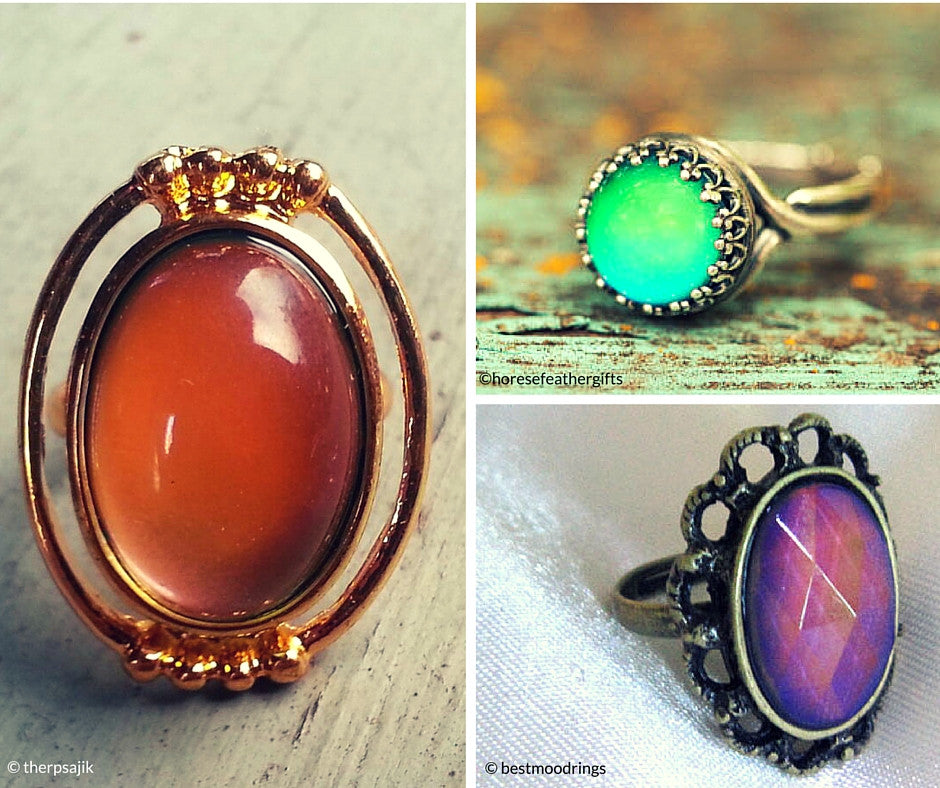 Vintage Mood Rings {Friday Finds}