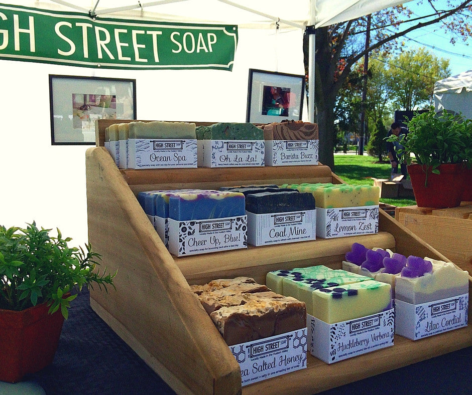 High Street Soap at the B Hive Green Fair + Market