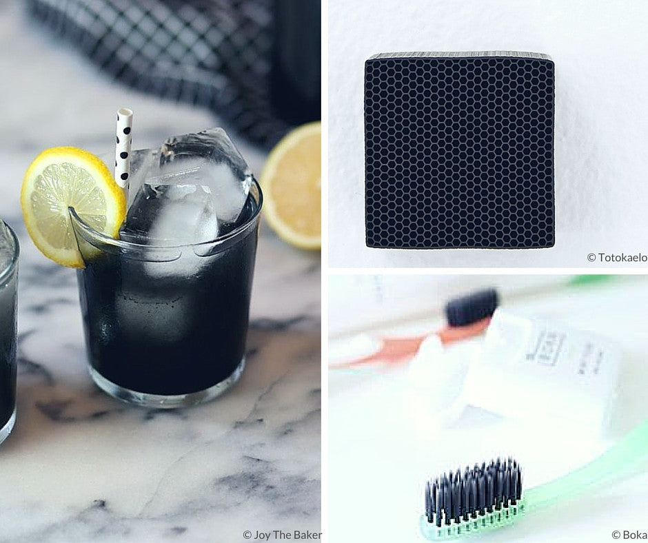 Charcoal 3 Ways {Friday Finds}
