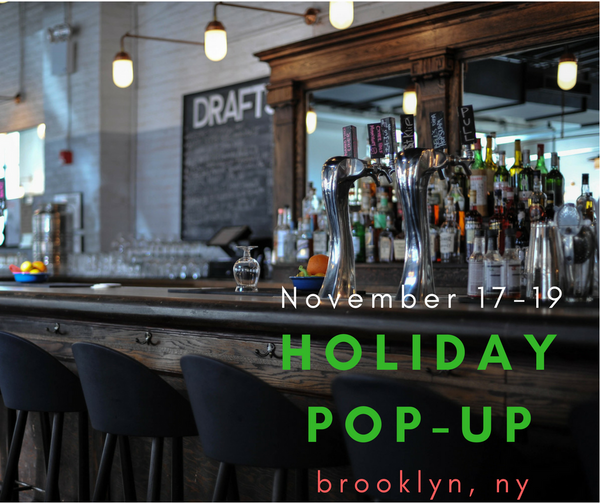 Holiday Pop-Up @ BERG'N Brooklyn, NY