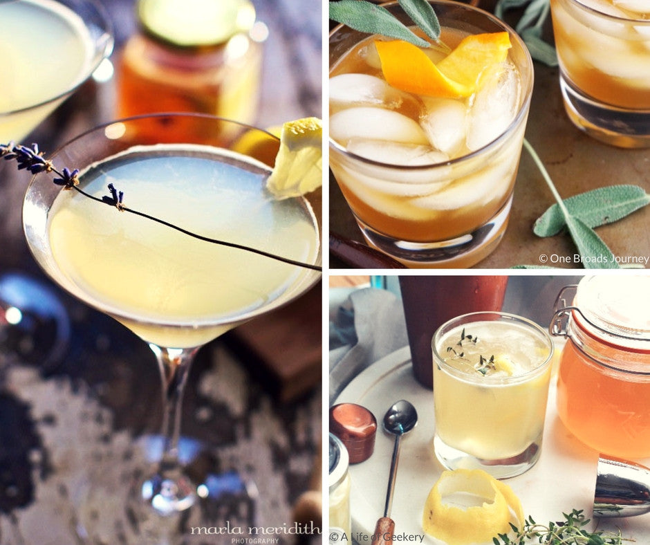 Honey Cocktails for National Honey Month {Friday Finds}