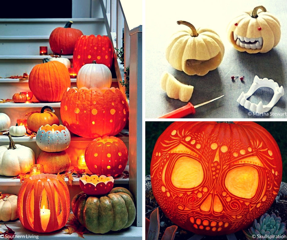Pumpkin Carving Inspirations {Friday Finds}