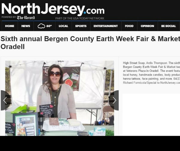 High Street Soap Earth Day Market - North Jersey Press